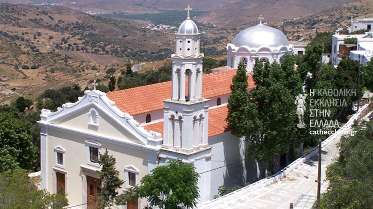 Αποτέλεσμα εικόνας για καθολικη εκκλησια ναξου τηνου